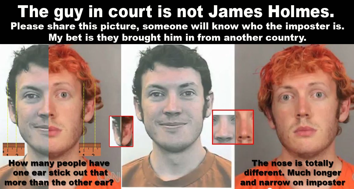 Is It Really James Holmes