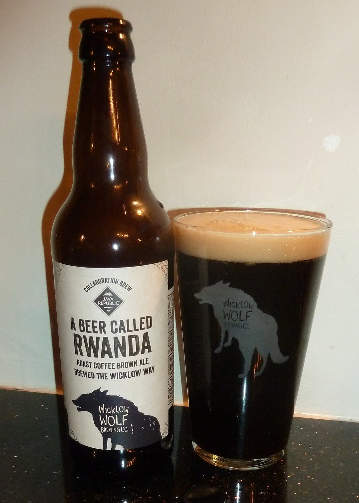 4a14ace3ce Staying on the dark-and-flavoured theme, A Beer Called Rwanda is a brown  ale with coffee from Wicklow Wolf. Personally I prefer getting my brown  beer coffee ...