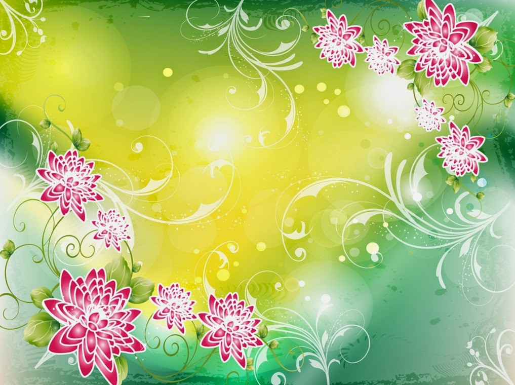 Flowers Background Designs | Many Flowers