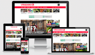 Viral Mag Multipurpose Blogger template responsive