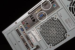 port komputer untuk proyektor