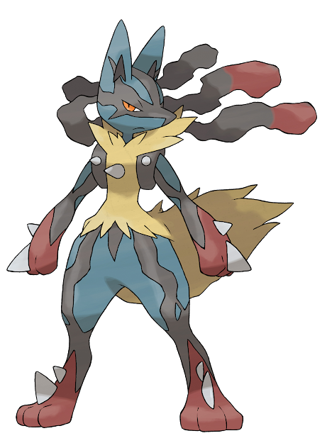 Mega Lucario Is The Mega Evolution Of Lucario Introduced In Pok  Mon  With Elegant Pokemon