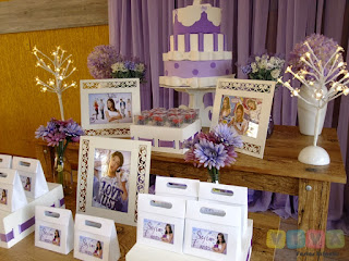 Decoração festa infantil Violetta Disney
