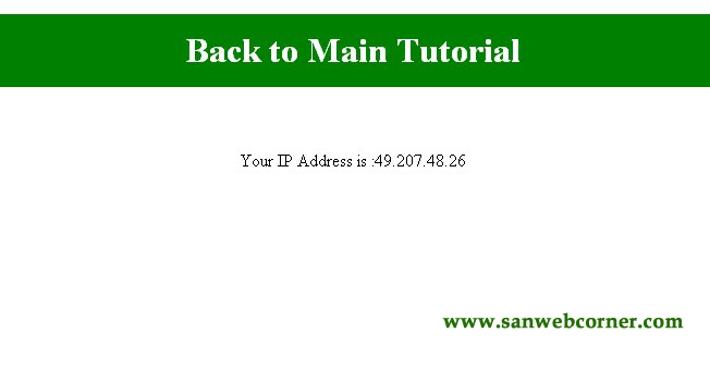 php code to track ip address