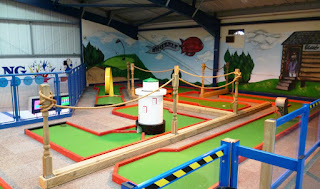 Indoor Crazy Golf at Brean Leisure Dome