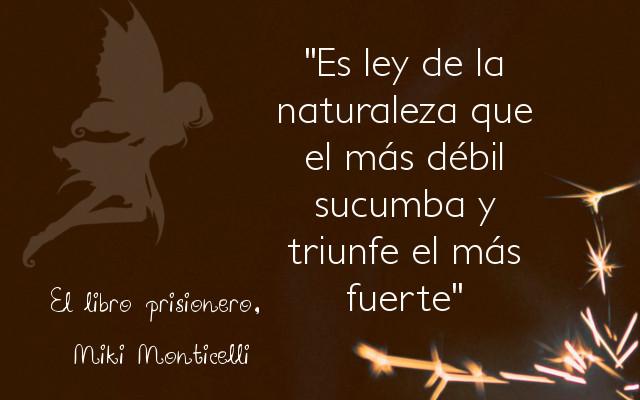 El libro prisionero - Miki Monticelli