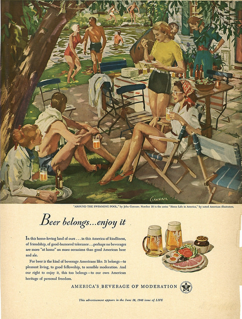 Beer Belongs: Around the Swimming Pool