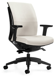 Office Chair with an Articulating Back
