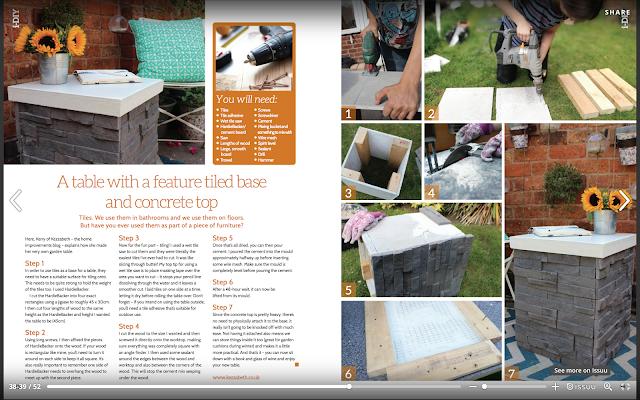 Kezzabeth i-Build Magazine