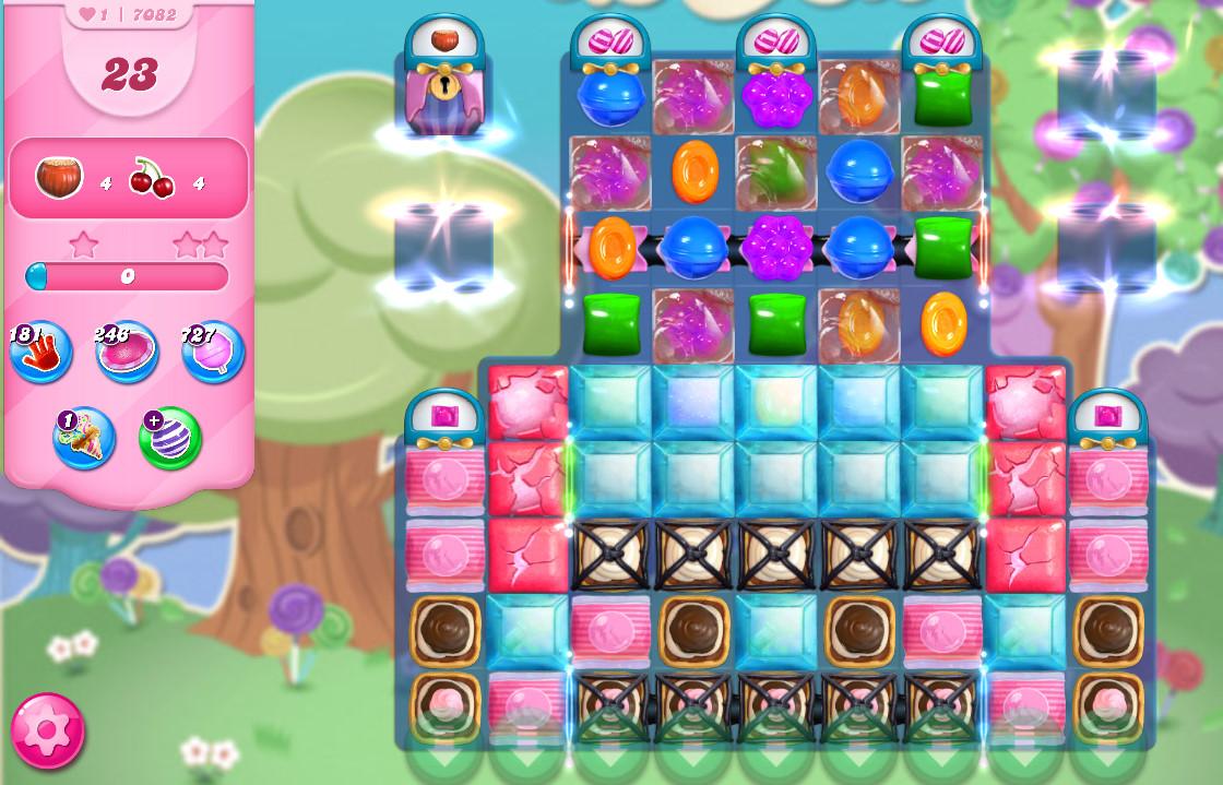 Candy Crush Saga level 7082