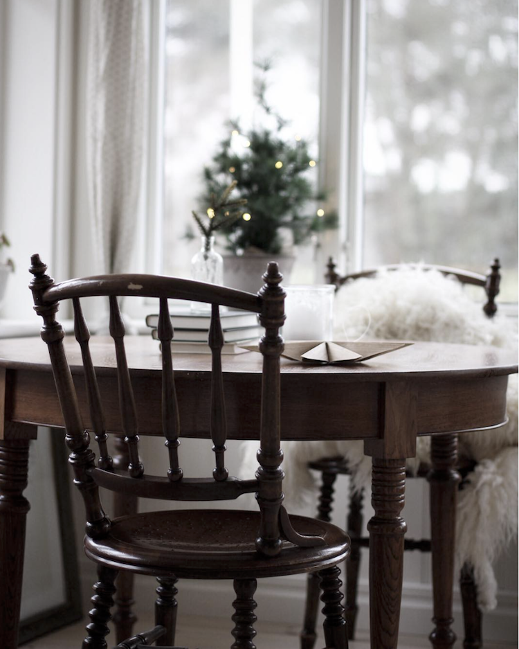 Subtle Christmas Touches Inwards A Swedish Province Home