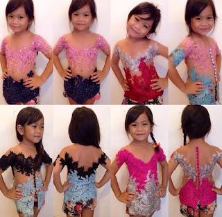 Gambar Kebaya Anak Perempuan Hari Kartini Model Modern