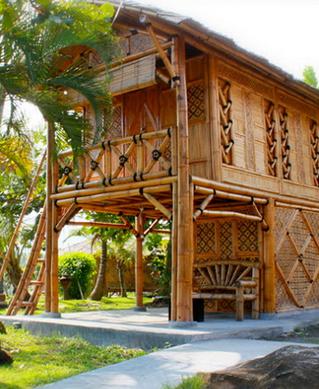 Bagi Anda Yang Sedang Mencari Contoh Rumah Bambu Unik