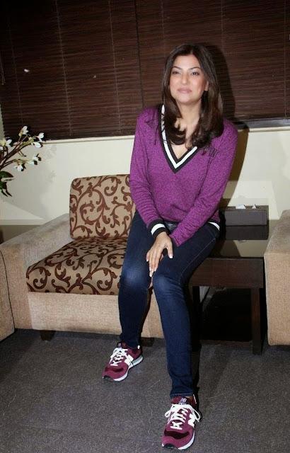 Sushmita Sen Latest Stills At Spa Launch