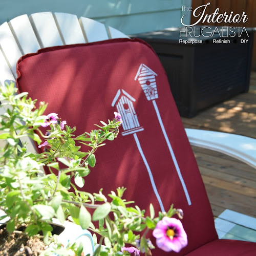 From Drab To Fab Outdoor Chair Cushions On A Budget