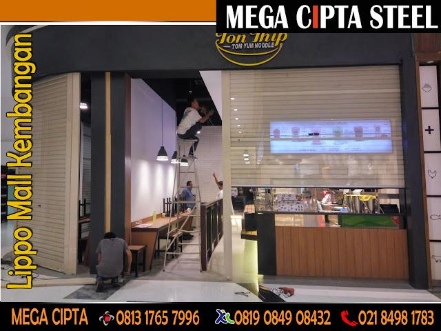 Gambar Rolling Door One Sheet Jakarta