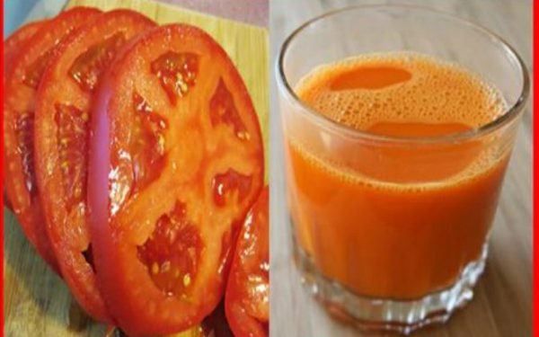 Recipe of tomato juice