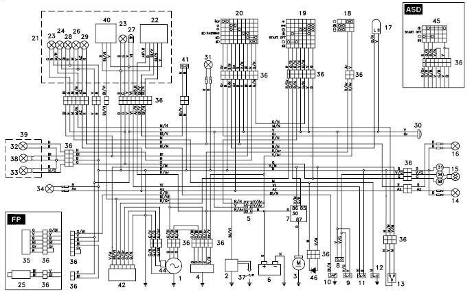 100 Cub Wiring Diagram Aprilia Rs 125 Aprilia Rs 125 Wiring Diagrams