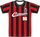 北海道コンサドーレ札幌 20周年記念 復刻版初代ユニフォーム風Tシャツ