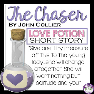 the plot of the chaser by john collier The quality of a short story should be approached as though it  here are  kishor's ap- pointment with love and collier's the chaser  john collier  now.