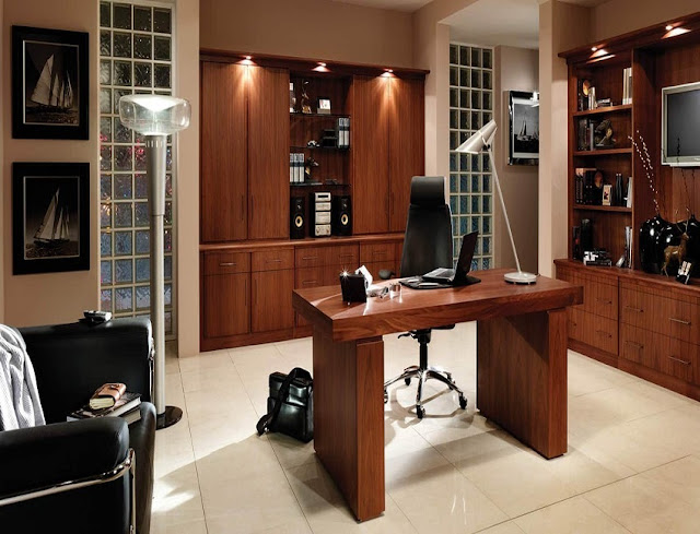best wood home office furniture already assembled for sale