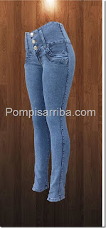 pantalones para dama de mayoreo jeans levanta pompis