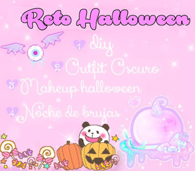 Reto Halloween Sweetie Bloggers