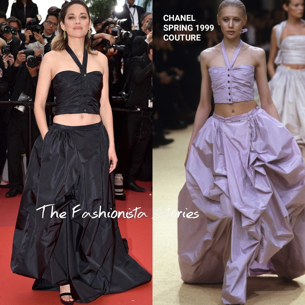 Fashion Flashback Marion Cotillard In Chanel Couture At The La