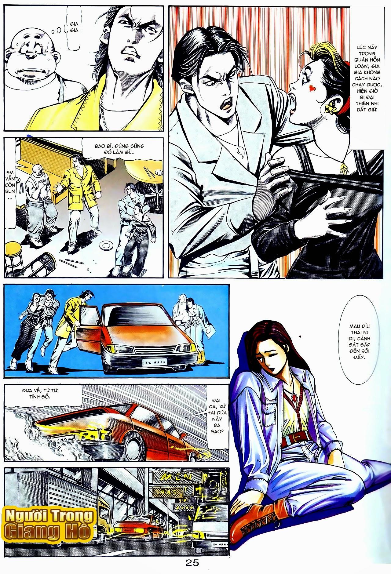Người Trong Giang Hồ chapter 111: đời không nuối tiếc trang 25