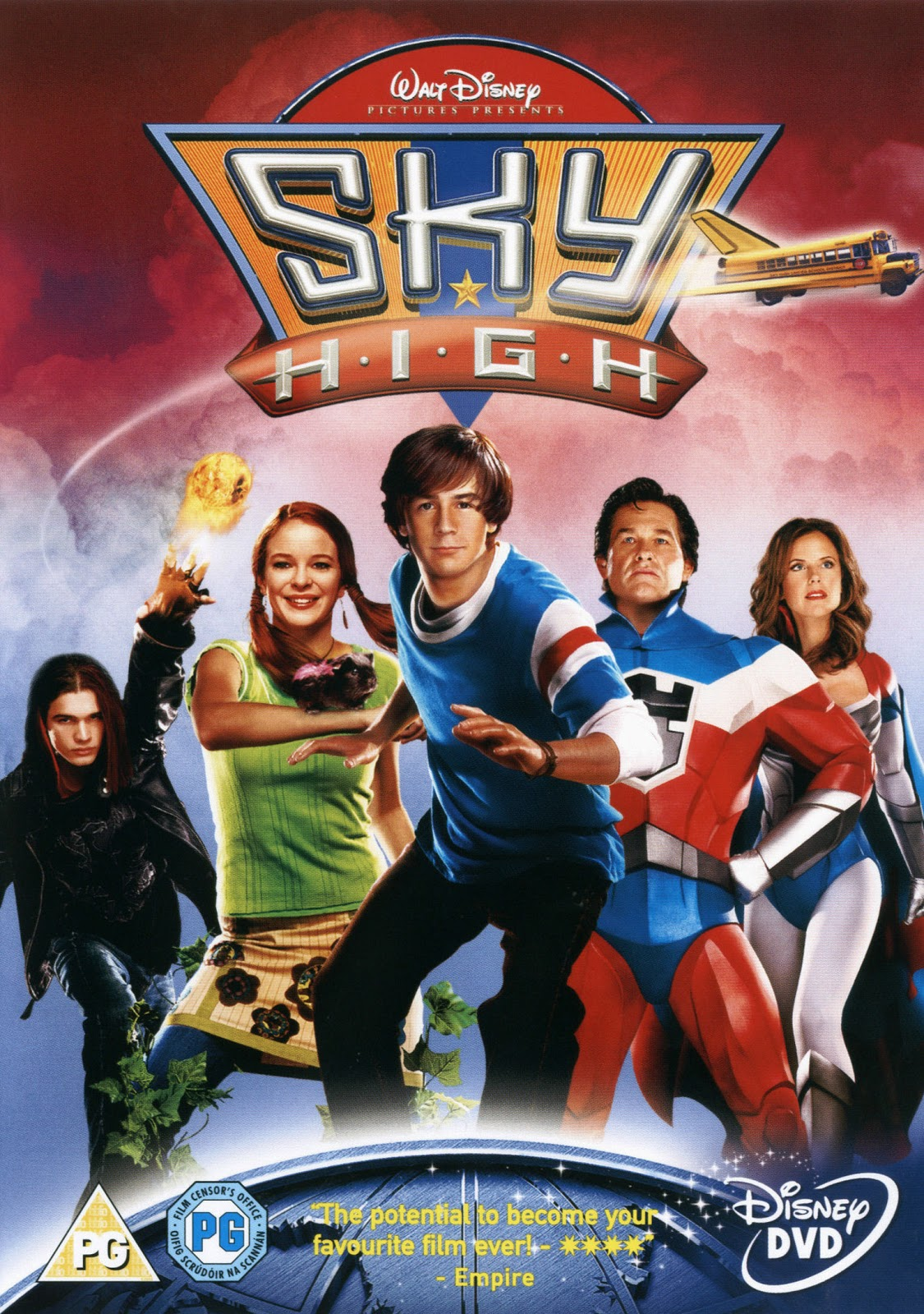 Sky High (2005) Dual Audio Hindi 300MB