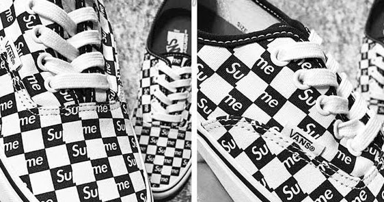 Fashion Supreme X Vans Era Collaboration Leaked Photos