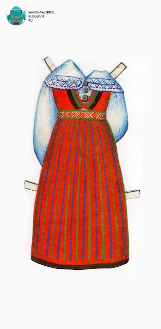Бумажные куклы с одеждой СССР, советские. Национальная одежда. Бумажные куклы в национальных костюмах Эстония Таллин СССР.