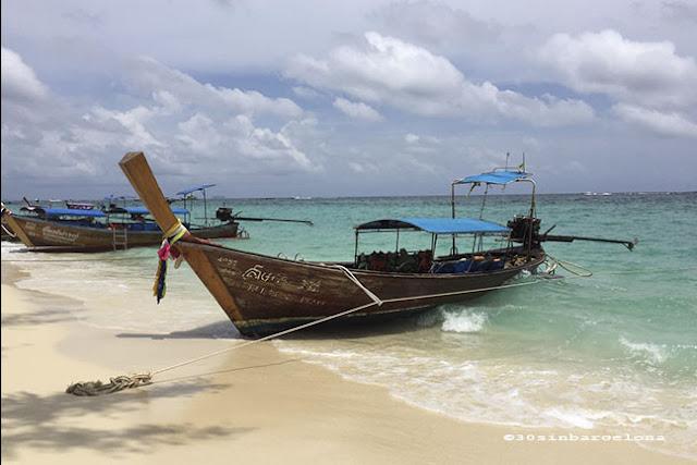 Longtail boat, Ko Phi Phi