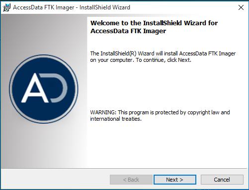 Installazione AccessData FTK Imager