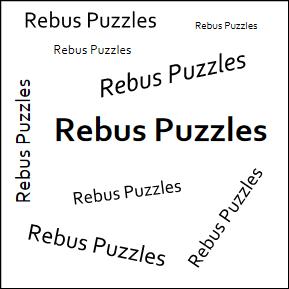 Rebus Puzzles Galore
