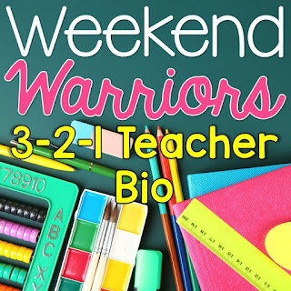 http://brightconcepts4teachers.blogspot.com/2015/06/3-2-1-teacher-bio-weekend-warriors.html