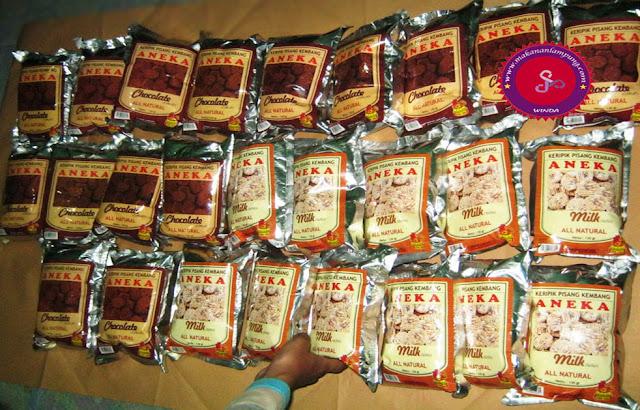 Keripik Pisang Aneka Yenyen Coklat