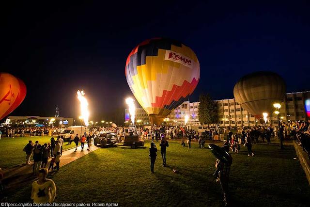 Погода помешала, но не отменила шоу воздушных шаров «Небо Святого Сергия» Сергиев Посад
