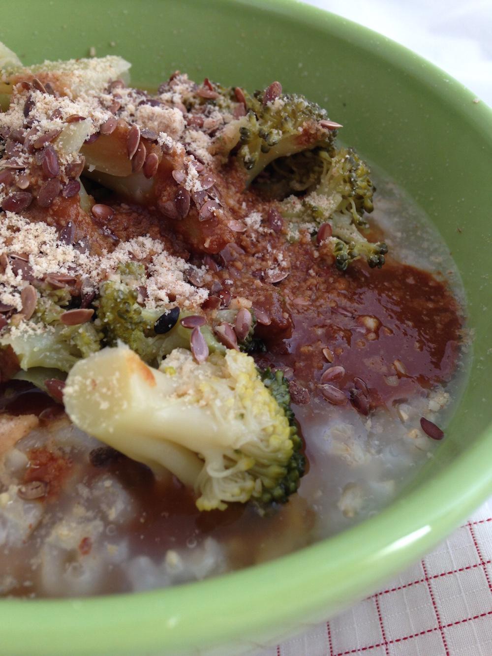 riso integrale e broccoli - consulenza macrobiotica