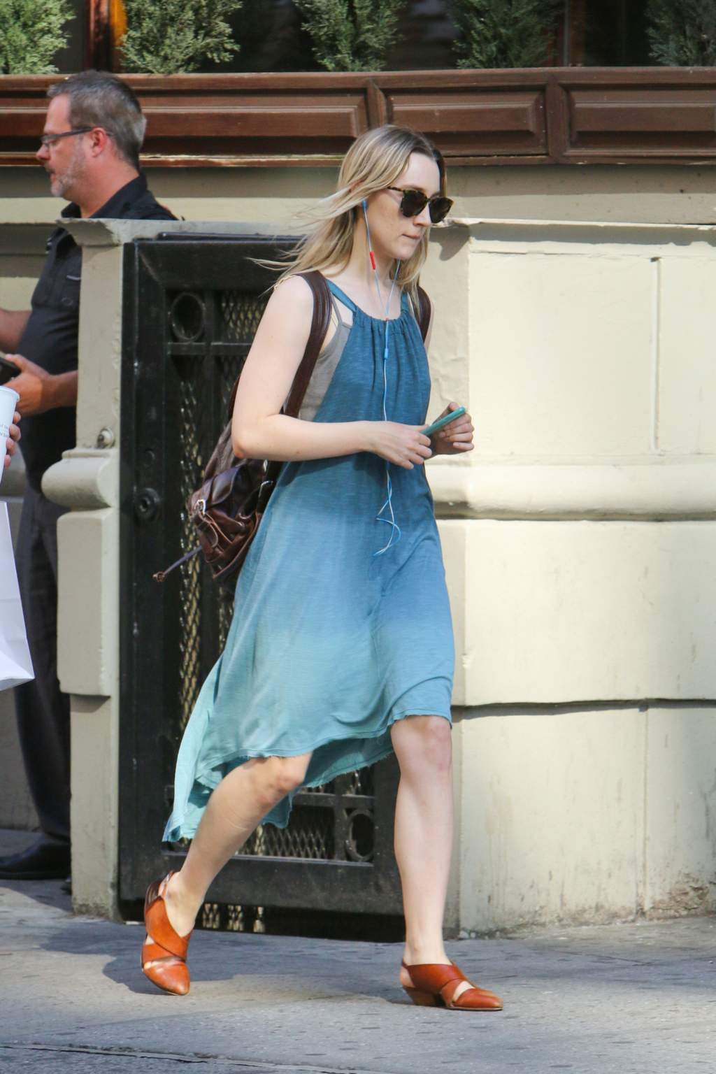 Saoirse Ronan – Out and about in New York City