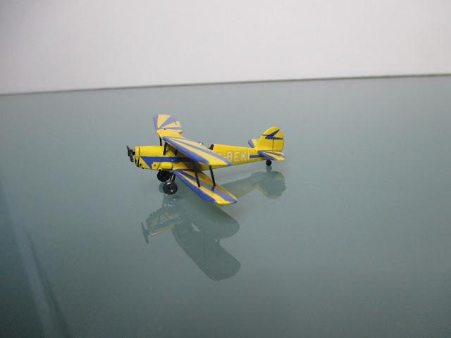 1/144 Stampe SV.4 diecast aircraft