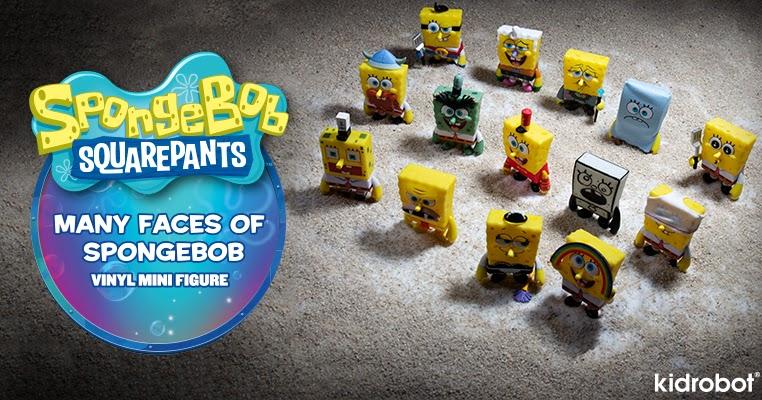 Spongebob Squarepants Mini Vinyl Figure by Kidrobot Dear Vikings