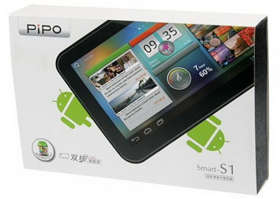 Android Jelly Bean 4 2 2 v1 1 firmware installed on Pipo S1 tablet
