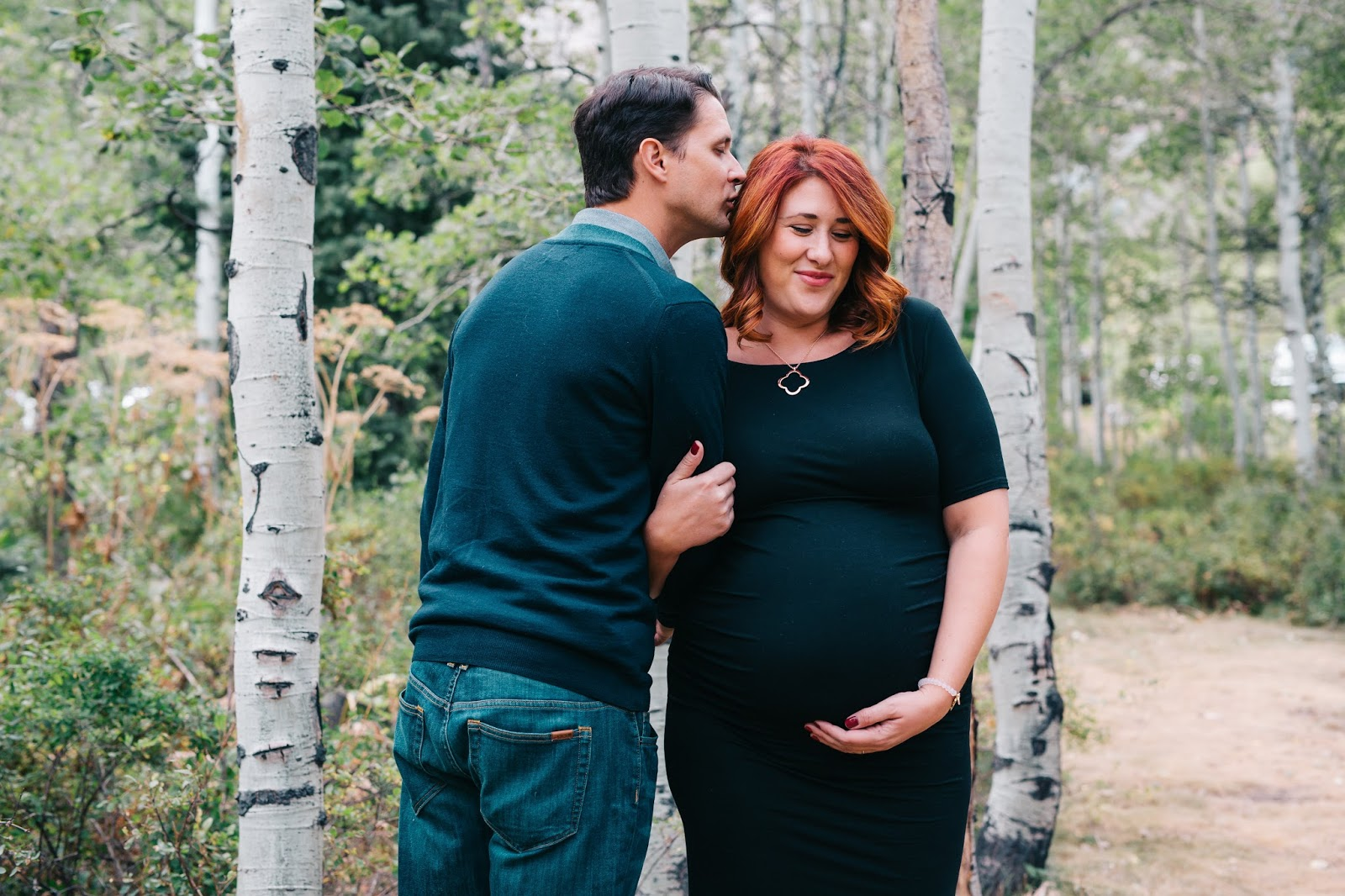 sundance mountain resort, maternity photography session