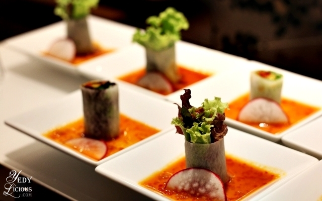 Daikon Wraps at Nobu Hotel Brunch Buffet City of Dreams Manila
