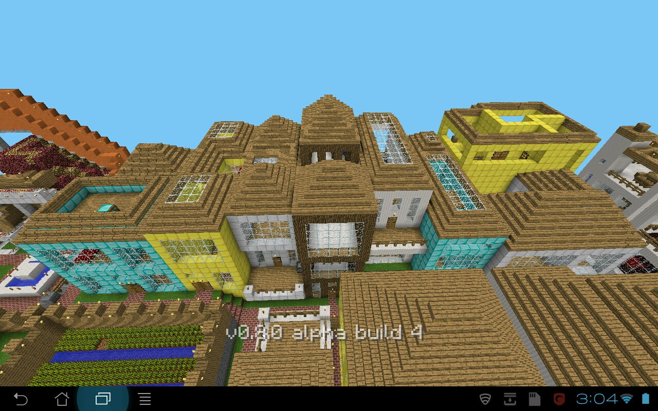Minecraft PE Building Ideas: Comfortable Living