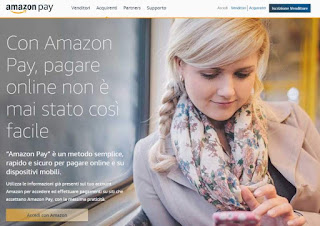 pagare con amazon pay
