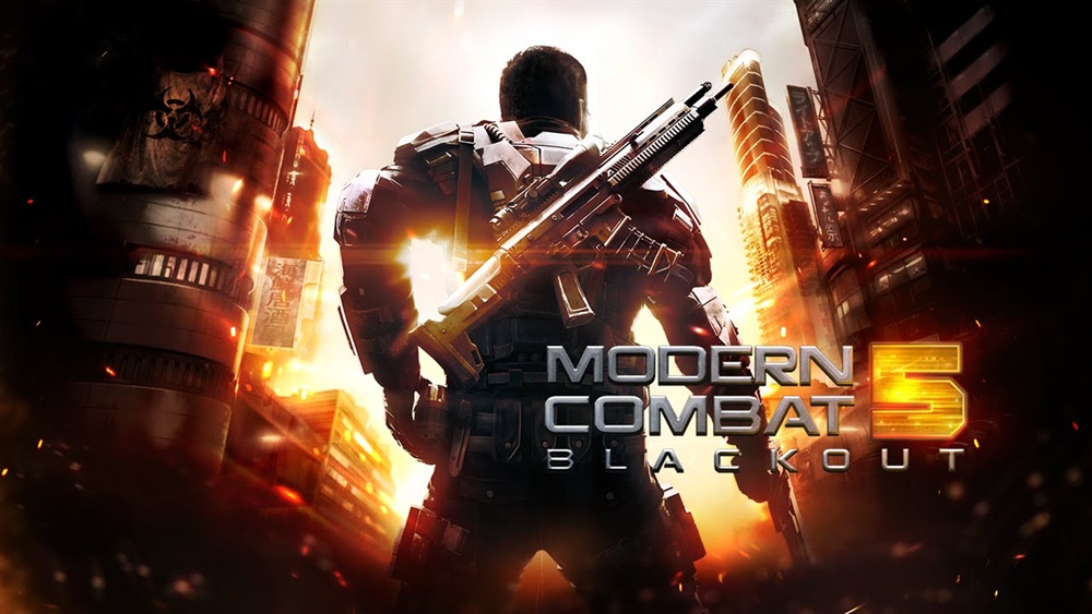Modern Combat 5 Blackout Download Poster
