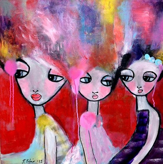 """""""Hair"""" por Karolina Palmer"""