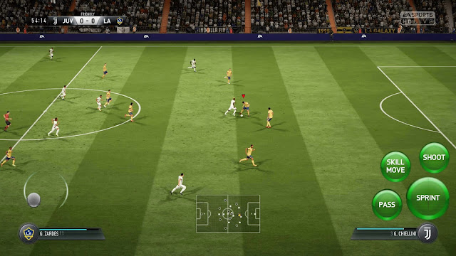 FIFA 14 MOD PES 2019 Update Best Graphics HD Android Real Faces
